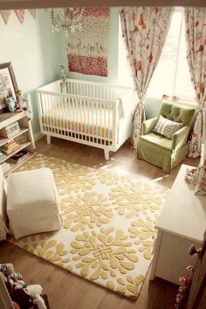 Cutest Baby Room Ever Nursery Interior Design Blue Yellow Patterns