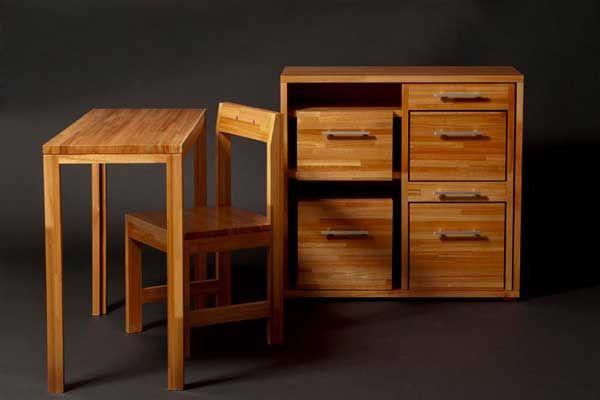 Ludovico DeskChairsStorage 3 Smart & Compact : Ludovico Furniture For Small Spaces