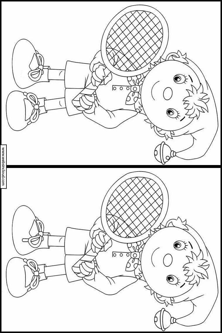 Noddy 61 Zoek De Verschillen Activiteiten Voor Kinderen Activiteiten Voor Kinderen Voor Kinderen Activiteiten