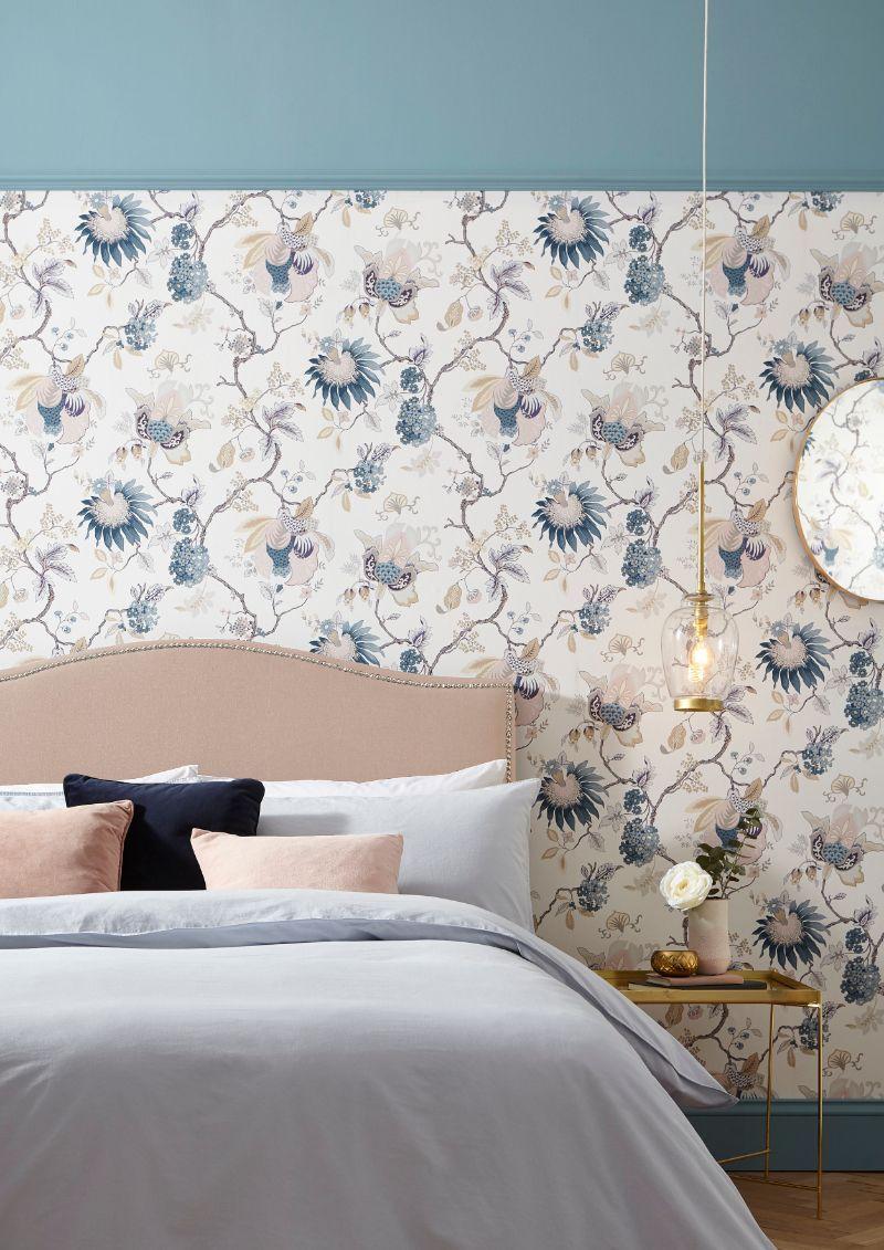 13 Bedroom Wallpaper Ideas To Transform Plain Walls Wallpaper Bedroom Wallpaper Design For Bedroom Wallpaper Walls Bedroom