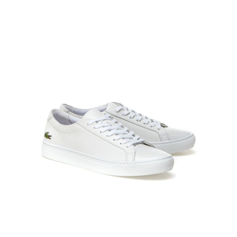 7f666baaff Men's L.12.12 Premium Leather Sneakers   LACOSTE   Things to Wear ...