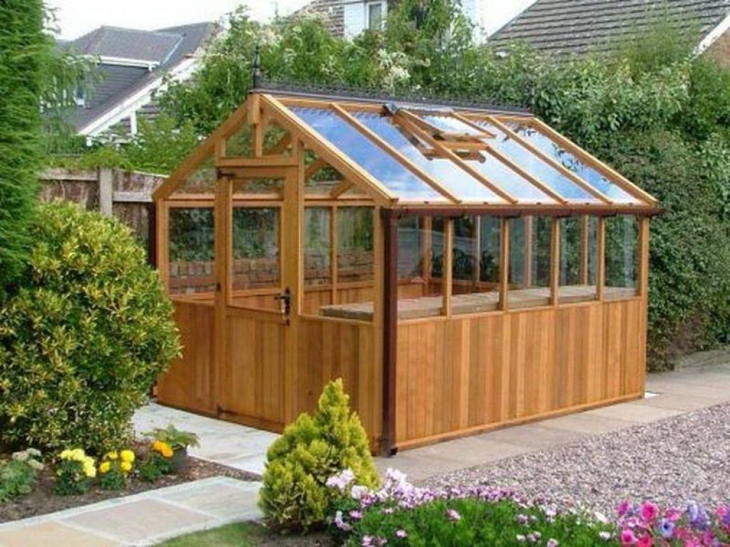 Greenhouses For Backyard Cool Backyard Green House 400 x 300