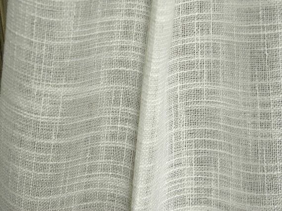 Sheer Curtain Fabric linen look semi sheer curtains fabric 118 inches wideeleptolis