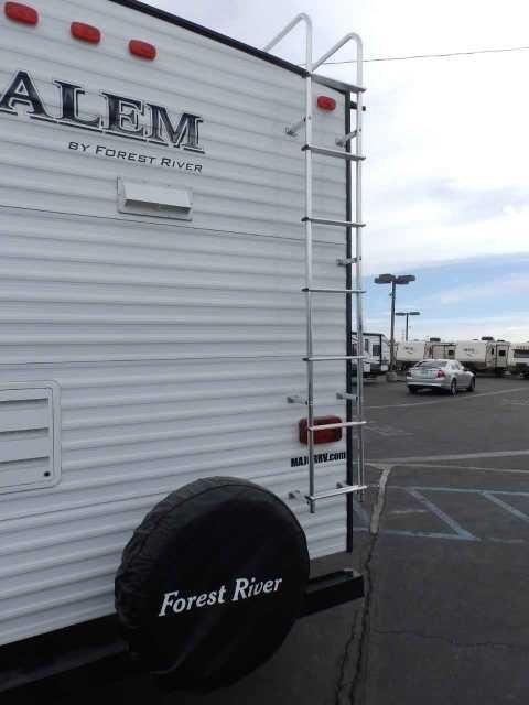 2016 New Forest River Salem 27 Rkss 1 Slide Rear Kitchen Power