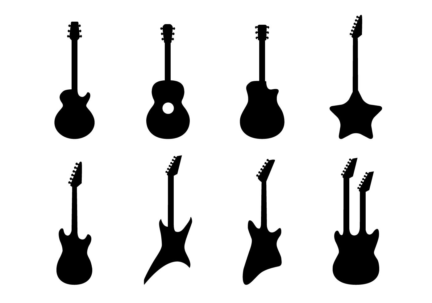 Download Guitar Vector Vector Art Choose From Over A Million Free Vectors Clipart Graphics Vector Art Images Des Guitar Vector Guitar Outline Music Symbols