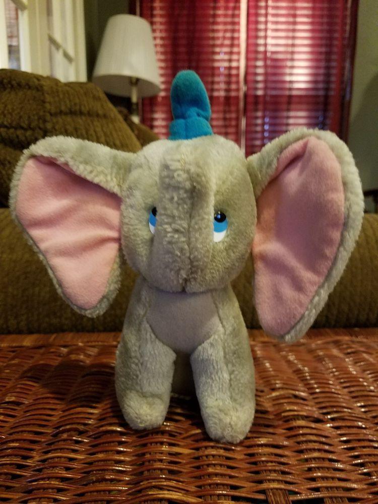 HUGE Stuffed Elephant Vintage Pattern
