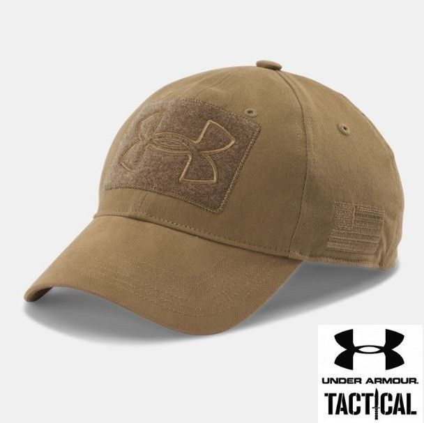 Under Armour NEW Tactical Patch cap Coyote Backpacking Gear c22ba8c4f64