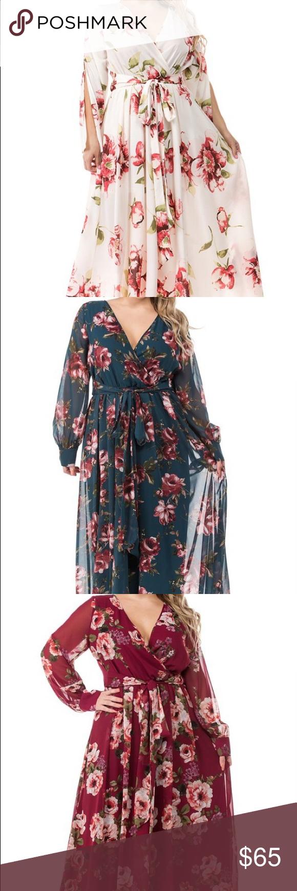 Photo of COMING SOON LADIES!! Plus size drape maxi dresses. -Premium Collection- Long Dra…