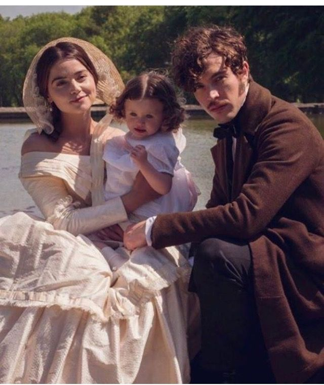 Jenna Coleman and Tom Hughes on Victoria series 2 2017 ...