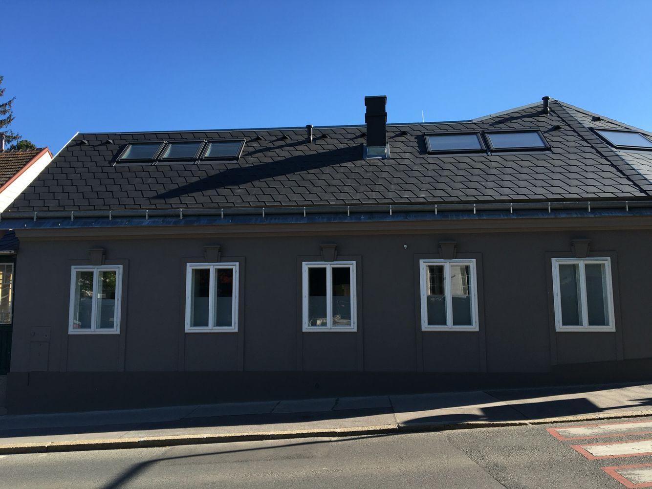 Fassaden Farbe Grau
