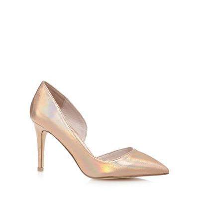largest selection of best choice new styles Faith Rose iridescent 'Cliff' high wide fit court shoes ...