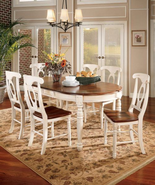 British Isles Oval Leg Table Oak And Black Room Concepts Dining Table In Kitchen Dining Room Sets Oval Table Dining
