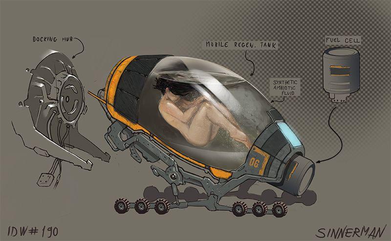 Pin on Sci fi interiors