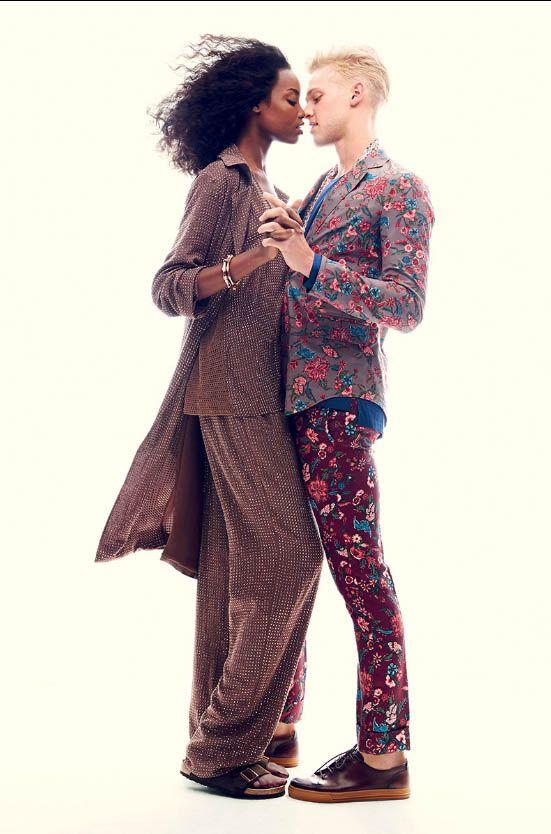 Maria Borges & Clarke Wesley   Harper's Bazaar US October 2013