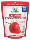 Natierra Nature's All Foods Premium Freeze-Dried Strawberries 0.7 Oz Pack of 4 #FoodandBeverages #freezedriedstrawberries