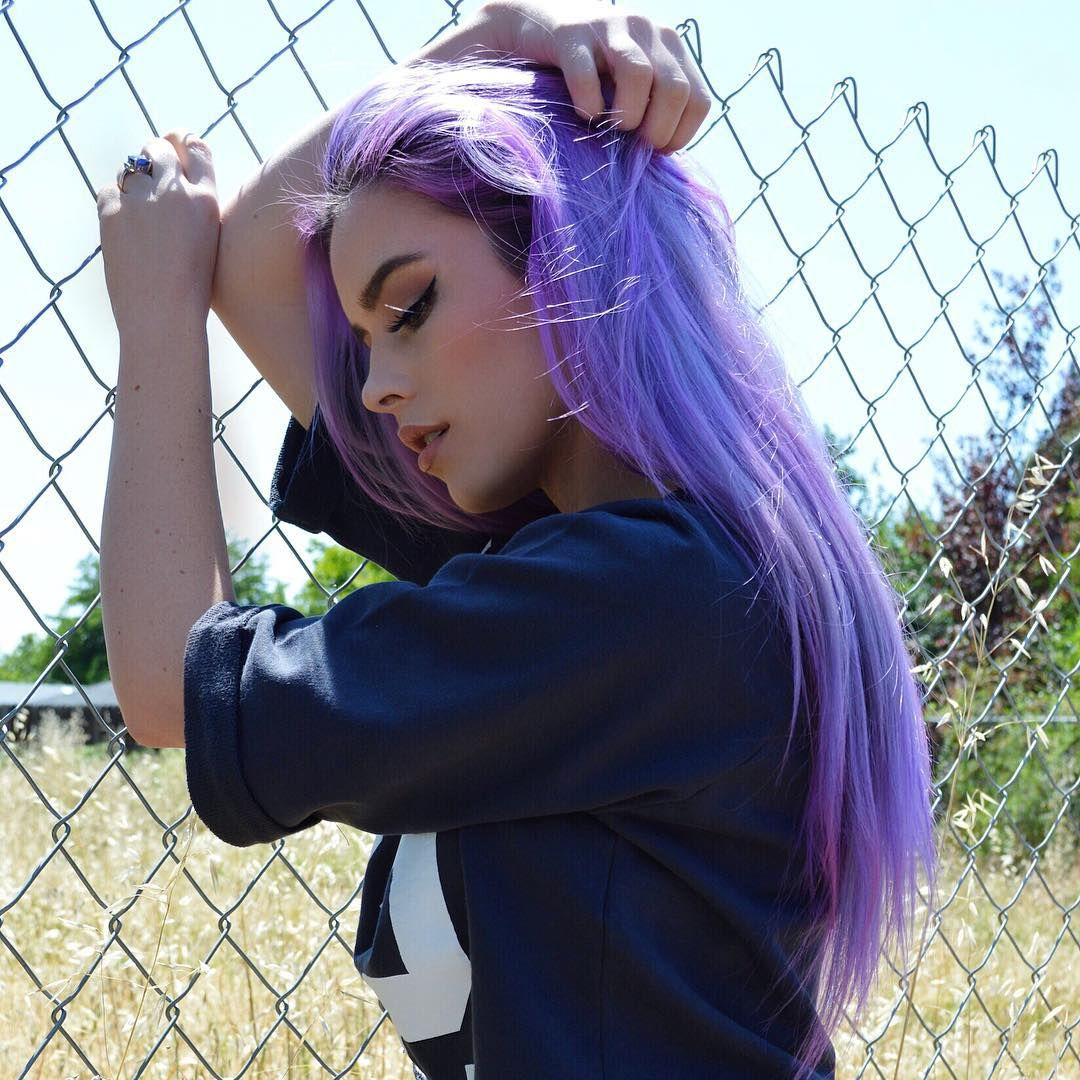 Manic Panic In Ultra Violet Cotton Candy Pink And Mystic Heather