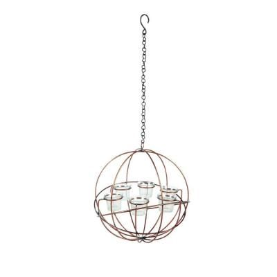 Hampton Bay, Hanging Wire Globe Votive Candle Holder, DS