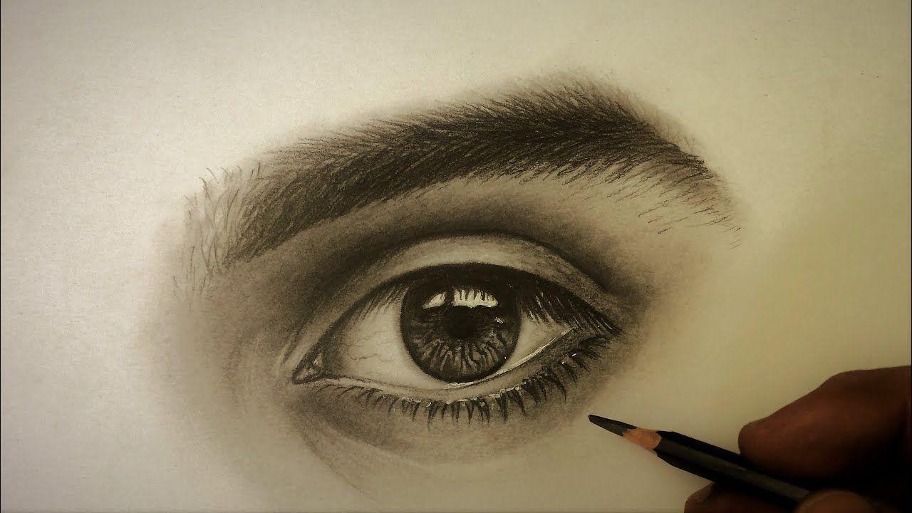 سنقوم في هذا الدرس برسم العين والحاجب لرجل وتظليلهما بالقلم الرصاص بسيط من الجرافيت لقد قمت بتبسيطهما قدر الإمكان لجعل رسمكم أسهل لكن الحواجب لا تزال ت