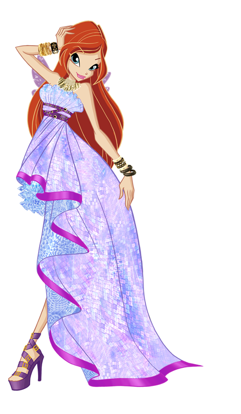 Winx club bloom princess daphne kindheit pinterest anime - Bloom dessin anime ...