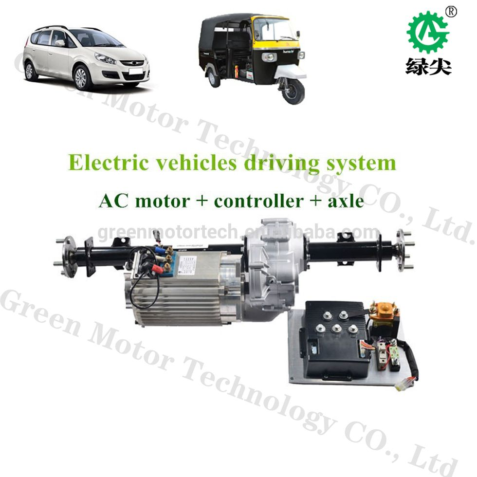 ac electric car motor. Source AC Brushless Motor Electric Car Kit 10kw 96V Conversion On M. Ac S
