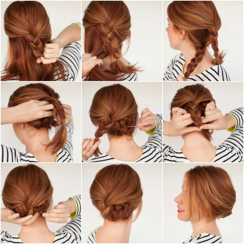 Diy Updos: 5 Easy DIY Hairstyles That Only Look Complicated