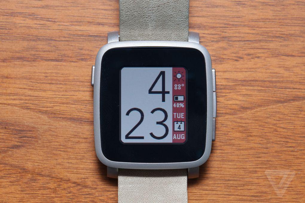 Pebble's next smartwatch is here