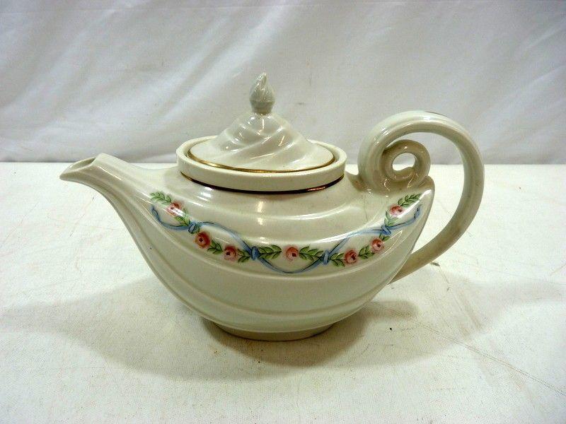 Vintage Halls Superior Quality Kitchenware Teapot Tea Pots Tea Pots Vintage Antique Teapot