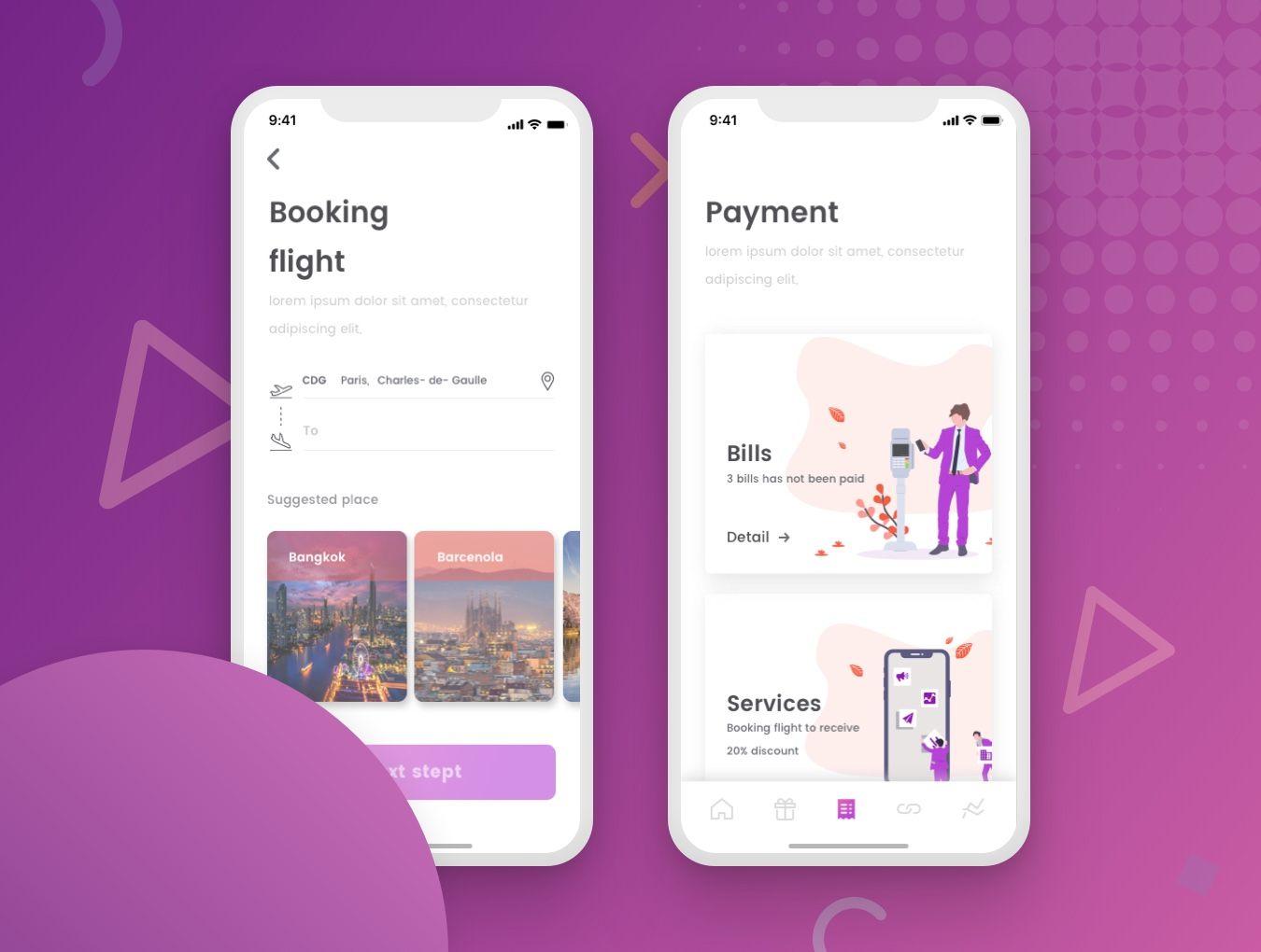 Pin on cenwallet mobile app ui kit