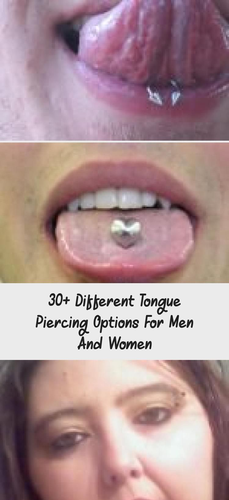 30+ different tongue piercing options for men and women - piercing - 30 ... -  30+ different tongue piercing options for men and women – piercing – 30+ different … – 30+  - #diyjewelrybox #glassesframes #Men #noisepiercing #options #piercing #Tongue #wirewrappedjewelry #Women