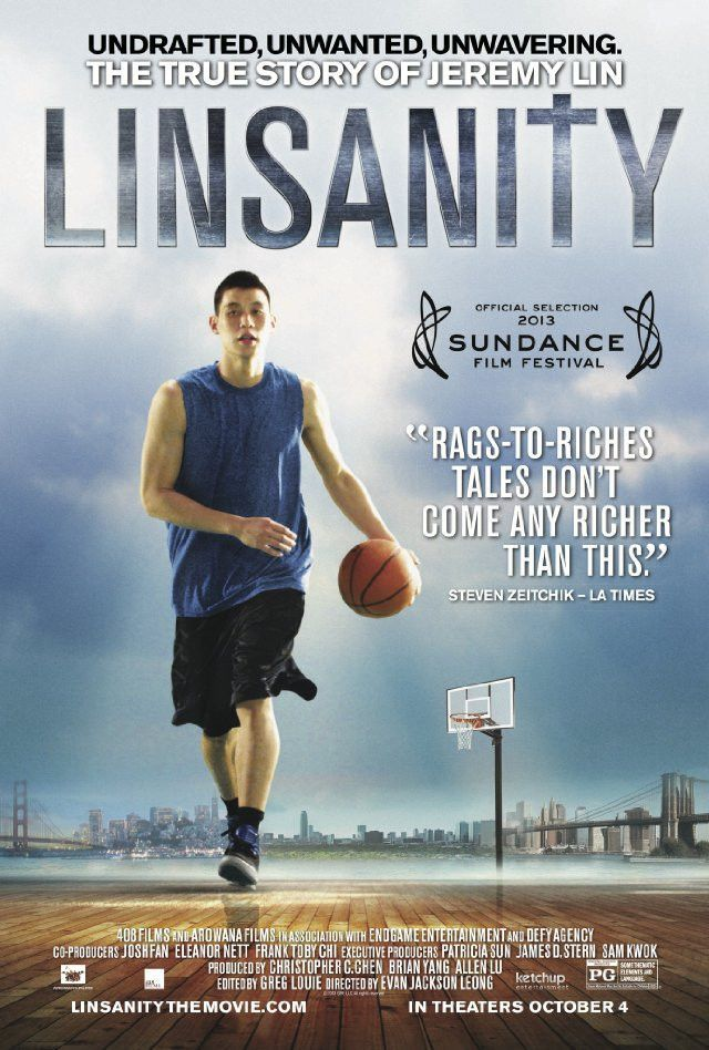 LINSANITY The true story of Jeremy Lin DVD Movies to