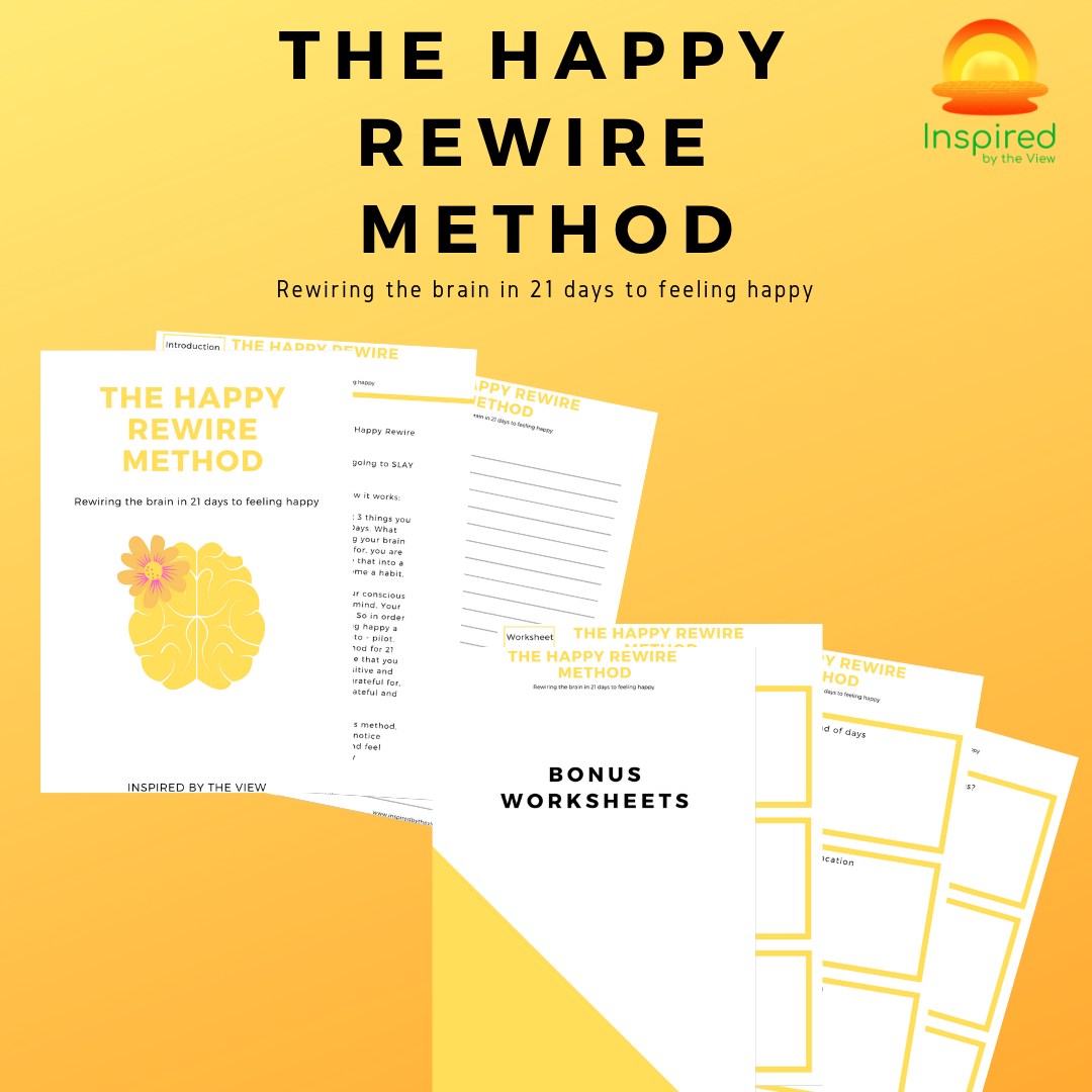 The Happy Rewire Method Worksheet
