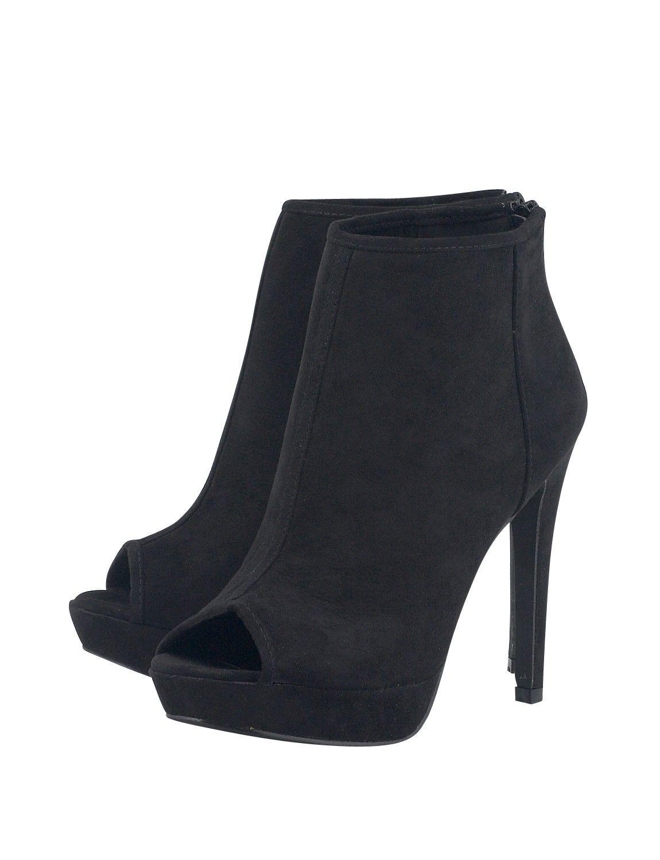 a9fa5cefc4a ΜΑΥΡΑ ΓΥΝΑΙΚΕΙΑ ΜΠΟΤΑΚΙΑ PEEP TOE   KOOLFLY ∙ Women ∙ Shoes ...