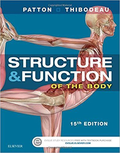 Test Bank For Structure Function Of The Body 15th Edition By Patton