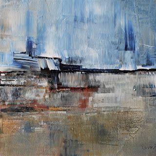 umj.art - Ulla Maria Johanson: 2018-01-27 #1174High FlowsAcrylic on board, 15x1...