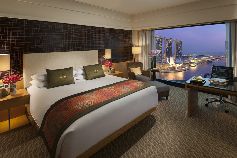 Marina Club Lounge Room Mandarin Oriental Hotel Singapore