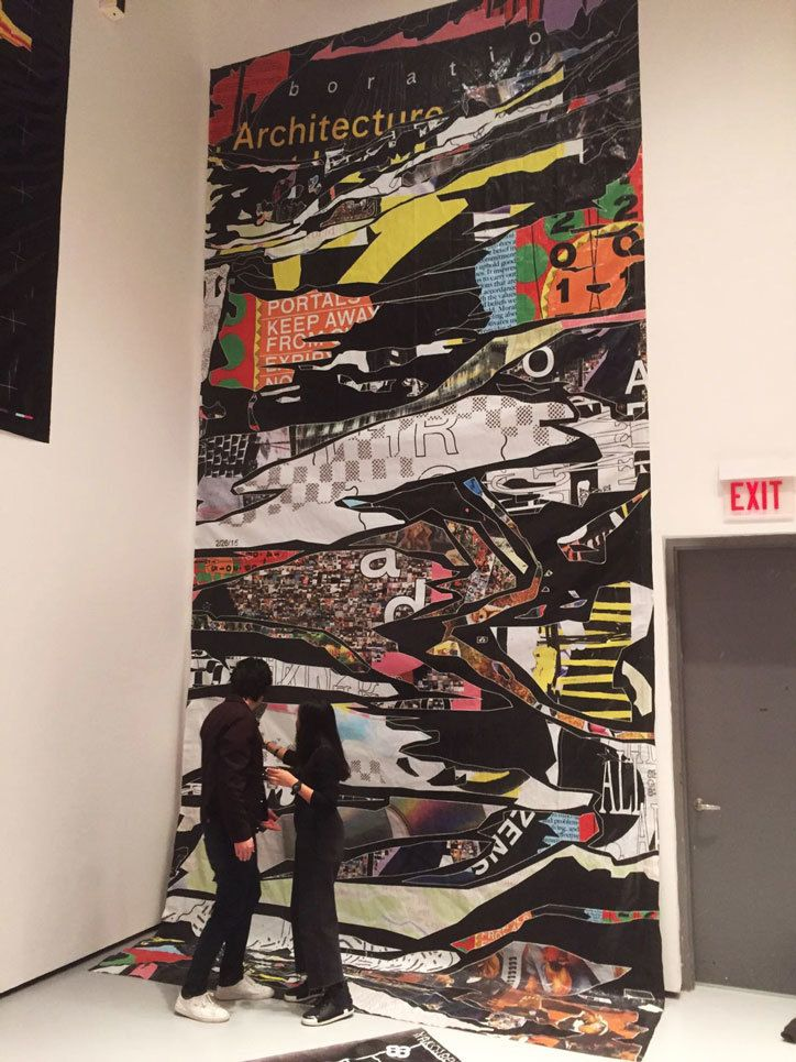 Dora Godfrey Yale Mfa Thesis Show Billboard Yale School Of Art
