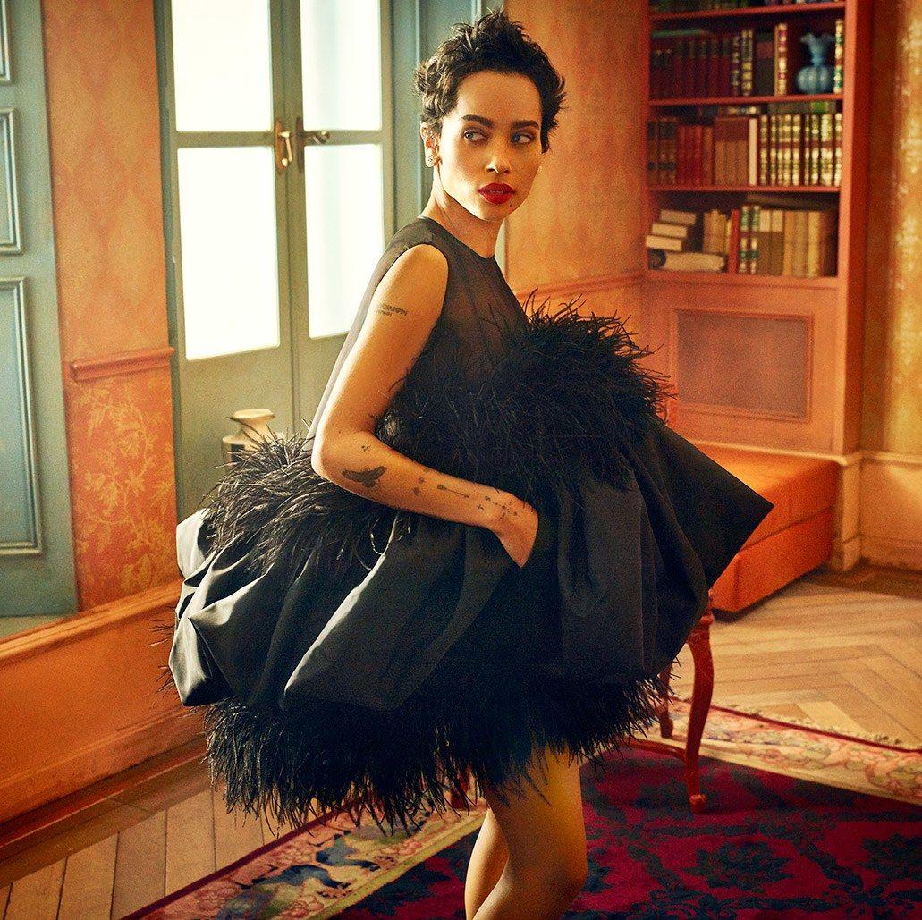 Zoe Kravitz Oscars Bra: Mark Seliger's 2018 Oscars Portrait Studio
