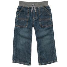 Pull-On Denim Jean