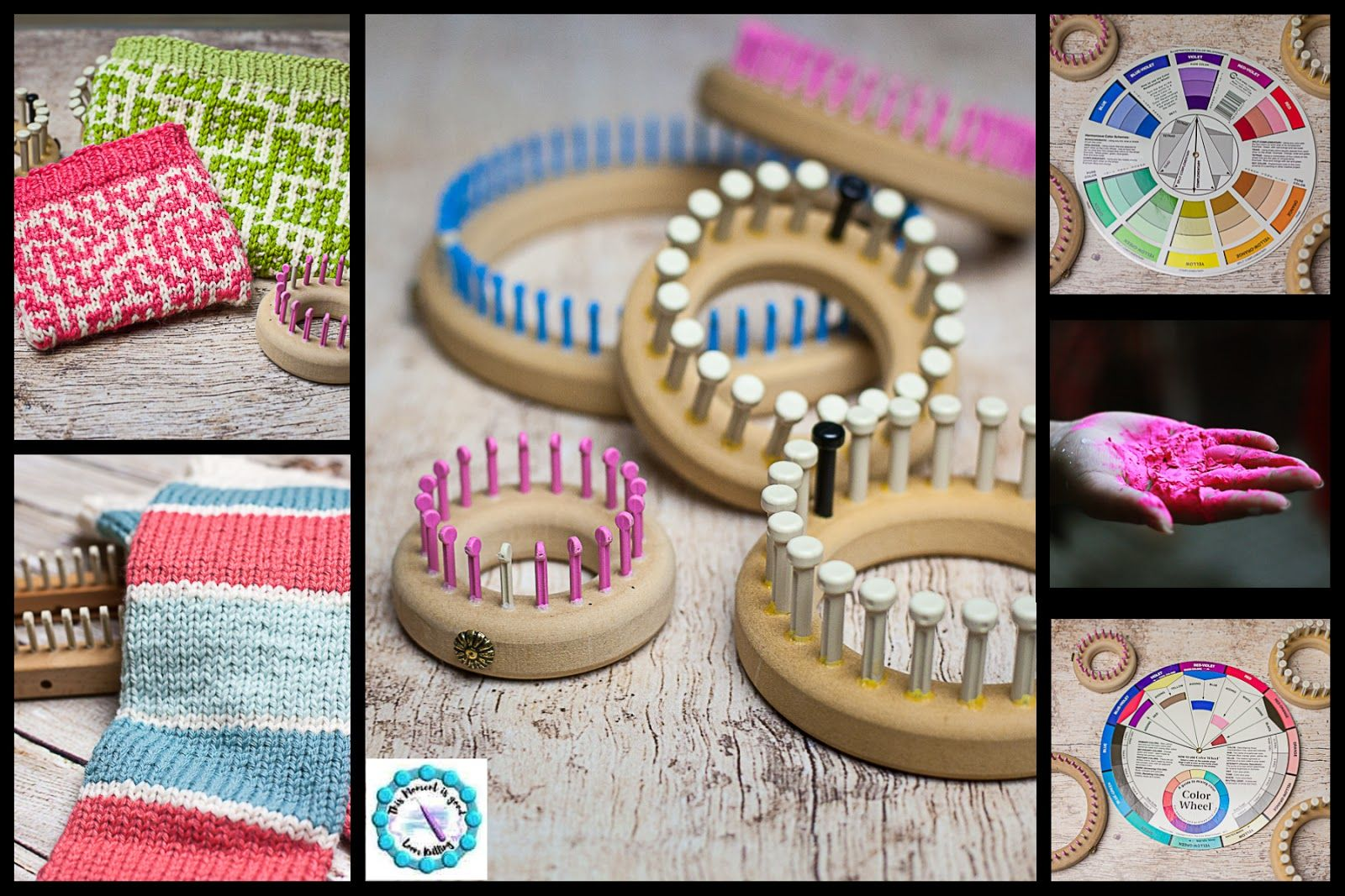 More Knitting Wheel Fashions : Finding color inspiration for loom knitters! knitting