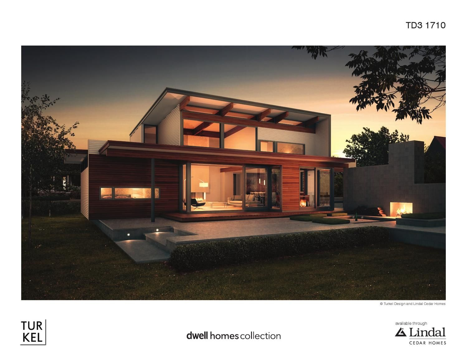 Turkel Design Lindal Cedar Homes Plan Library Ski