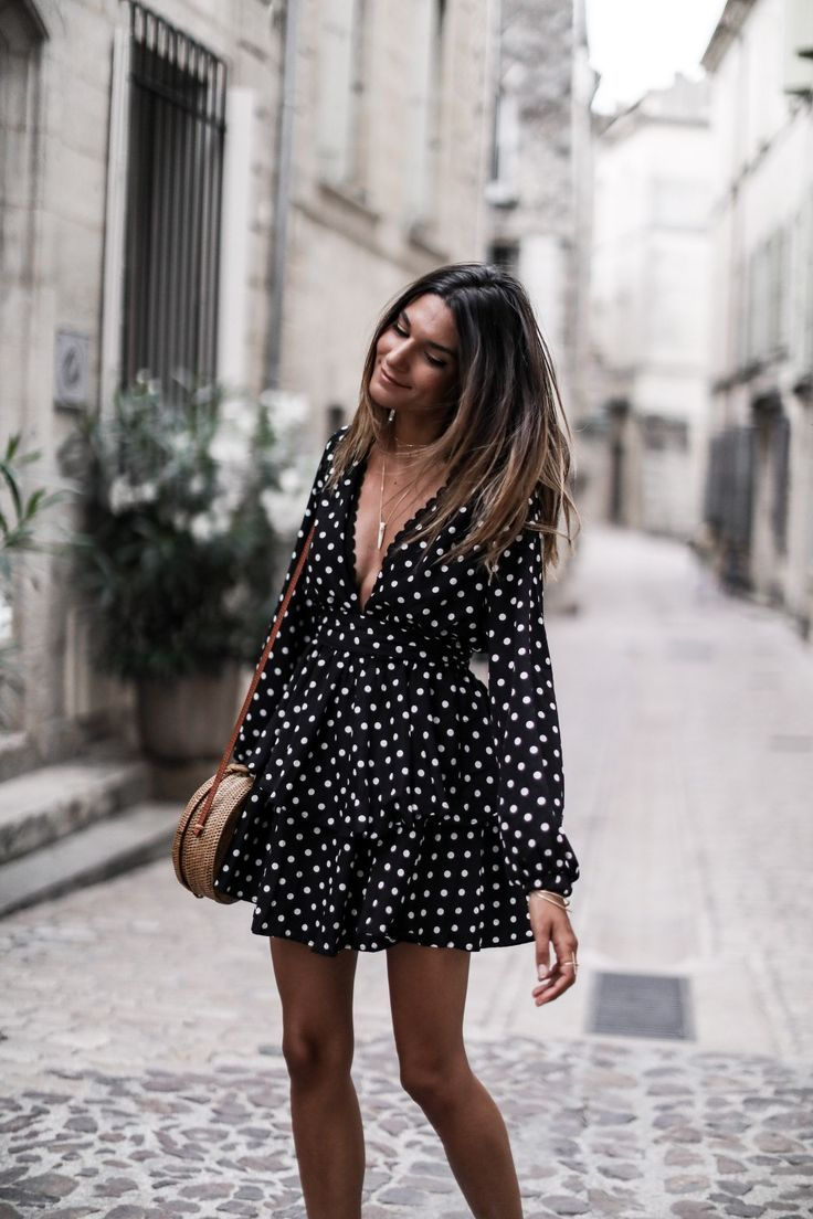 Petite robe à pois - JUNE Sixty-Five - Blog Mode