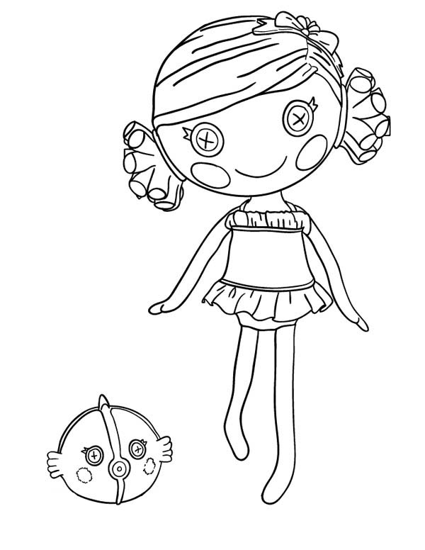 Sand E Starfish From Lalaloopsy Coloring Page Color Luna Mermaid Coloring Pages Coloring Pages For Girls Free Coloring Pages