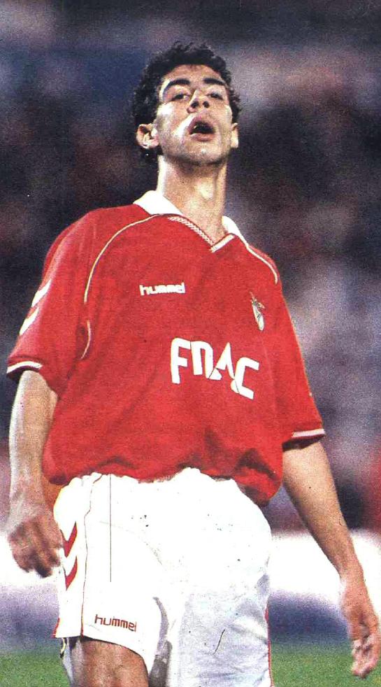 Rui Costa del Benfica 1991/92. imagens) Futebol
