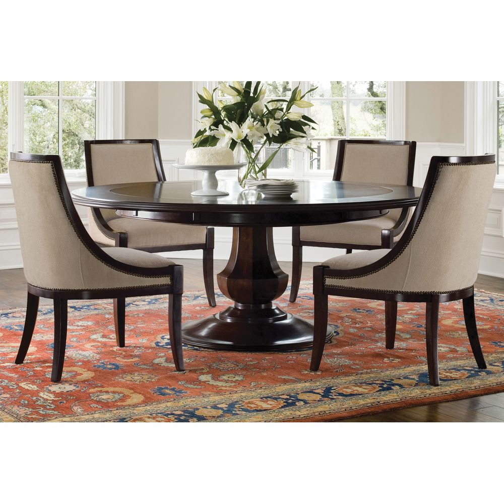 Sienna Round Dining Table And Chairs By Brownstone