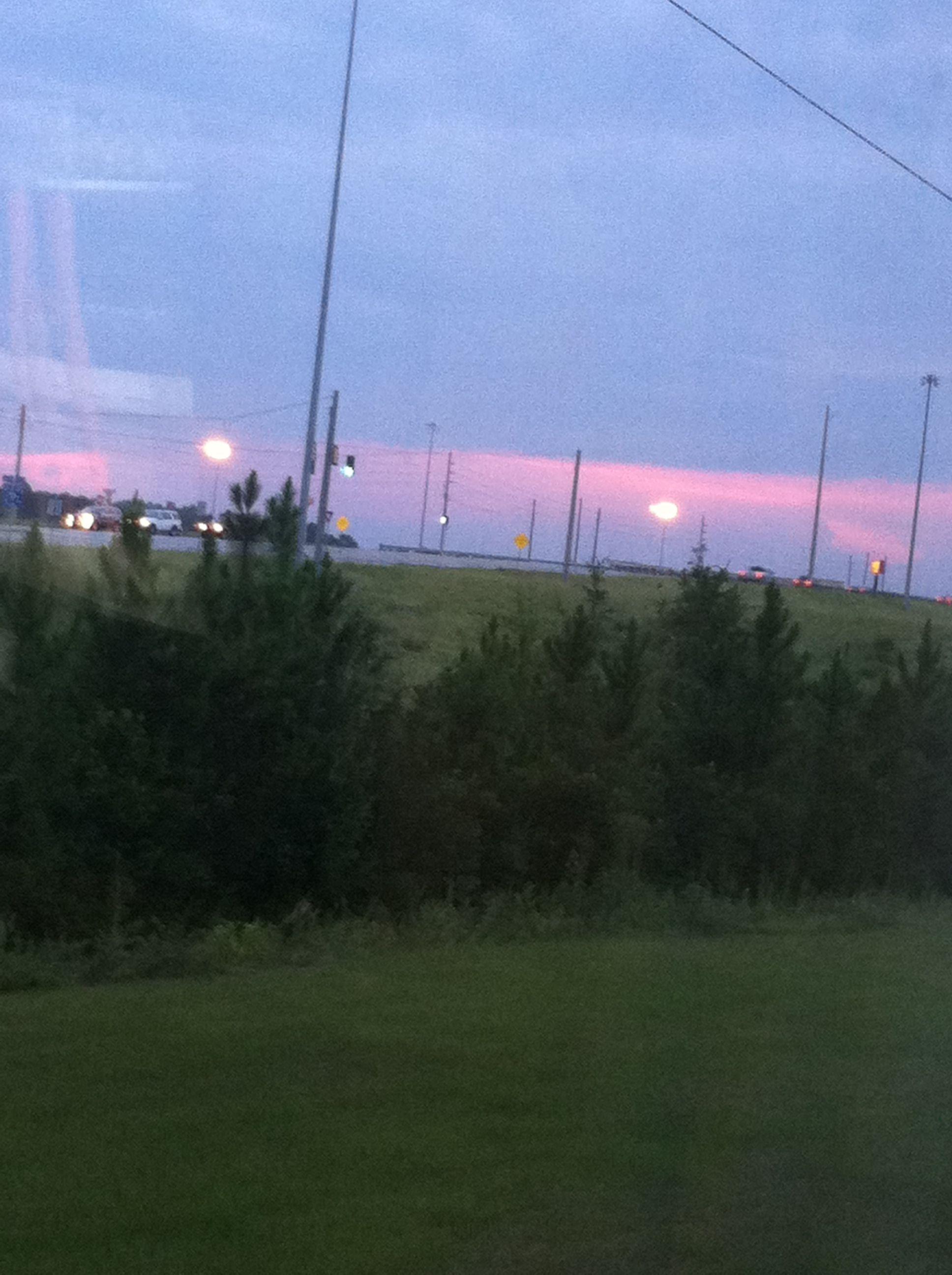 Sun set in Georgia