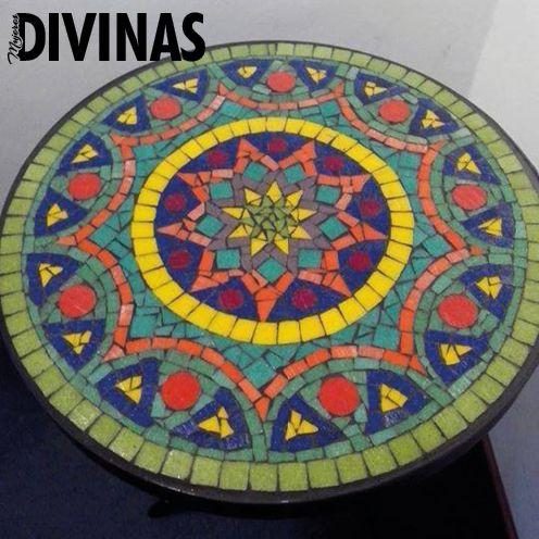 mandalas con mosaiquismo mosaiquismo pinterest mosaik mosaik muster und mosaiktisch. Black Bedroom Furniture Sets. Home Design Ideas