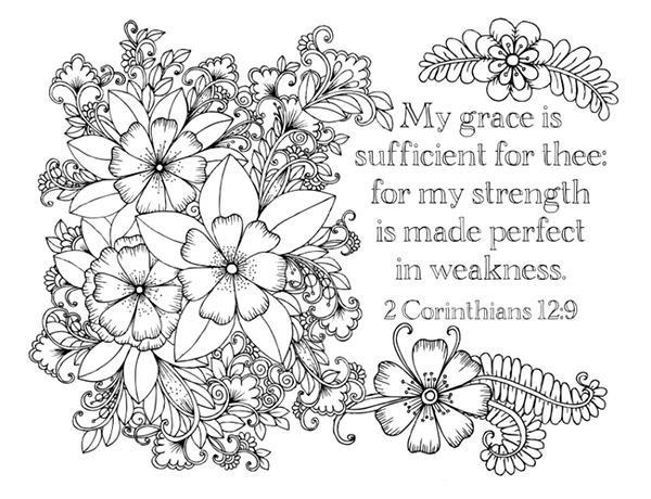 bible study faith provision week 2 part 2 adult coloring pagescoloring