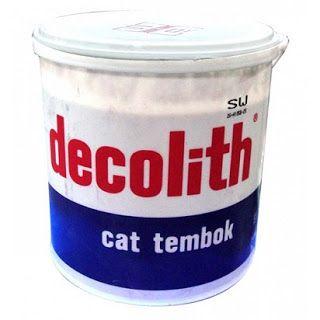 Cat Tembok Decolith Cat Tembok Favorit Masyarakat Indonesia