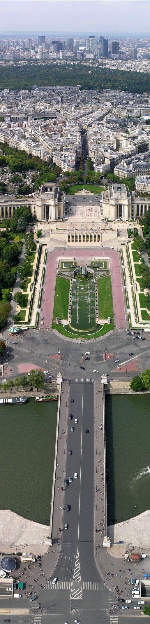 Paris, visto da Torre Eiffel