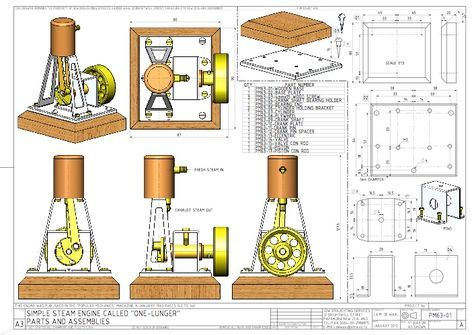 Simple steam engine plans Just what I was looking for Plans